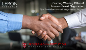 Introductory Image for Winning Offers and Interest Based Negotiation